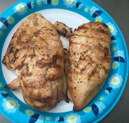 Grilled In Love Gourmet Peach White Balsamic Chicken Breasts