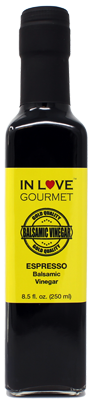 In Love Gourmet Espresso Balsamic VInegar