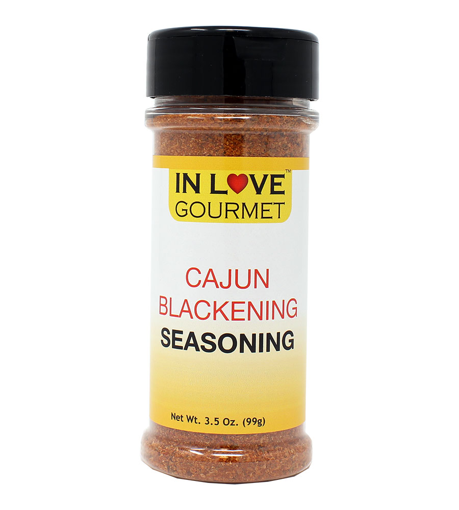 Cajun Blackening Seasoning 3.5 oz. Blackened Fish Seasoning, Blackened Chicken Seasoning, Cajun Lovers Famous Recipe