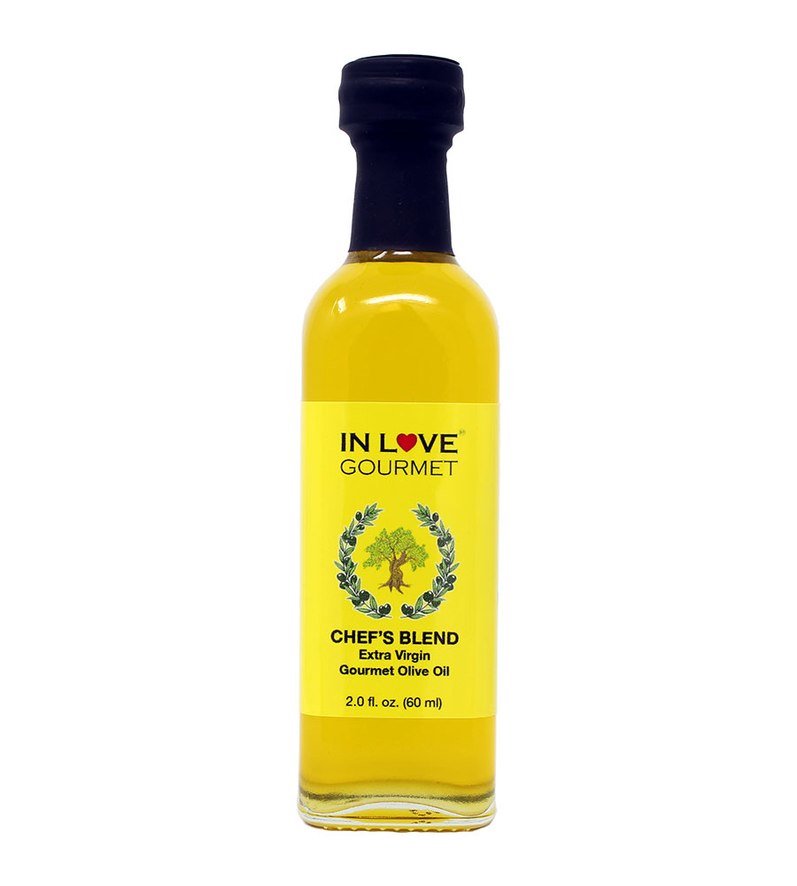 Chef's Blend Extra Virgin Olive Oil 60ML/2oz (Sample Size) All Purpose Gourmet Extra Virgin Olive Oil