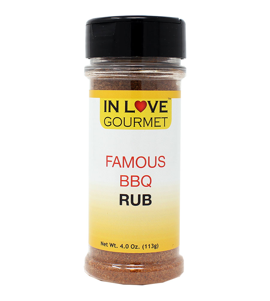 Famous BBQ Rub 4oz - Best BBQ Rub, Dry Rub For Ribs, Dry Rub for Pork, Dry Rub For Chicken