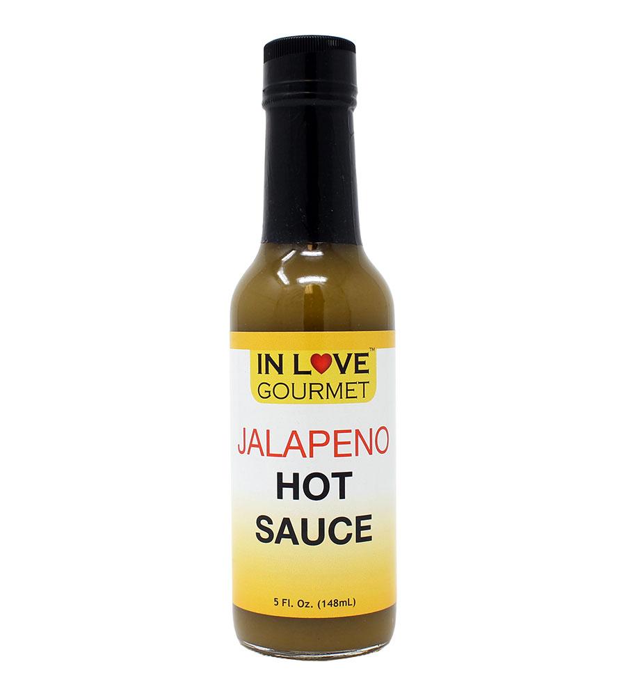 Jalapeno Hot Sauce 5 fl. oz. Jalapeno Pepper Sauce, Green Hot Sauce, Green Sauce, Taco Hot Sauce