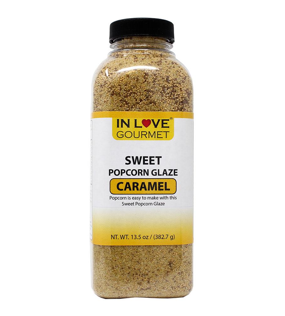Sweet Gourmet Caramel Popcorn Glaze